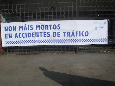 .... NON MÁIS MORTOS EN ACCIDENTES DE TRÁFICO