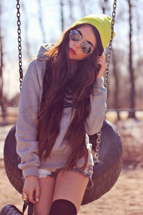 New high winter fashion For Woman Yellow Cap