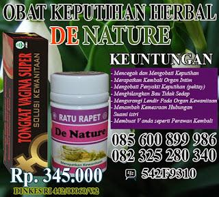 obat keputihan secara alami dan tradisional
