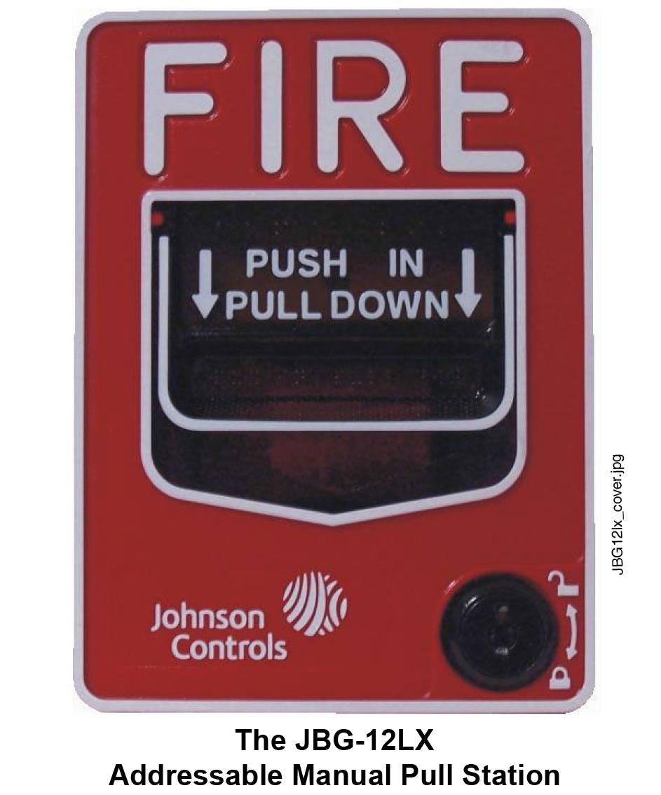 johnson controls manual pull station