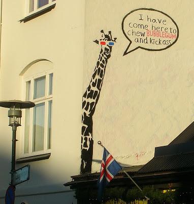 rekyavik+giraffe