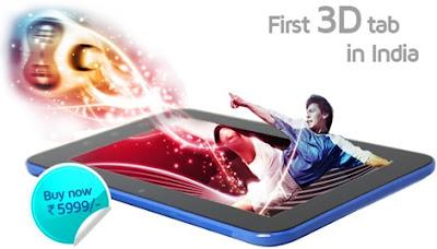 Swipe 3D Life Tab X74 Tablet