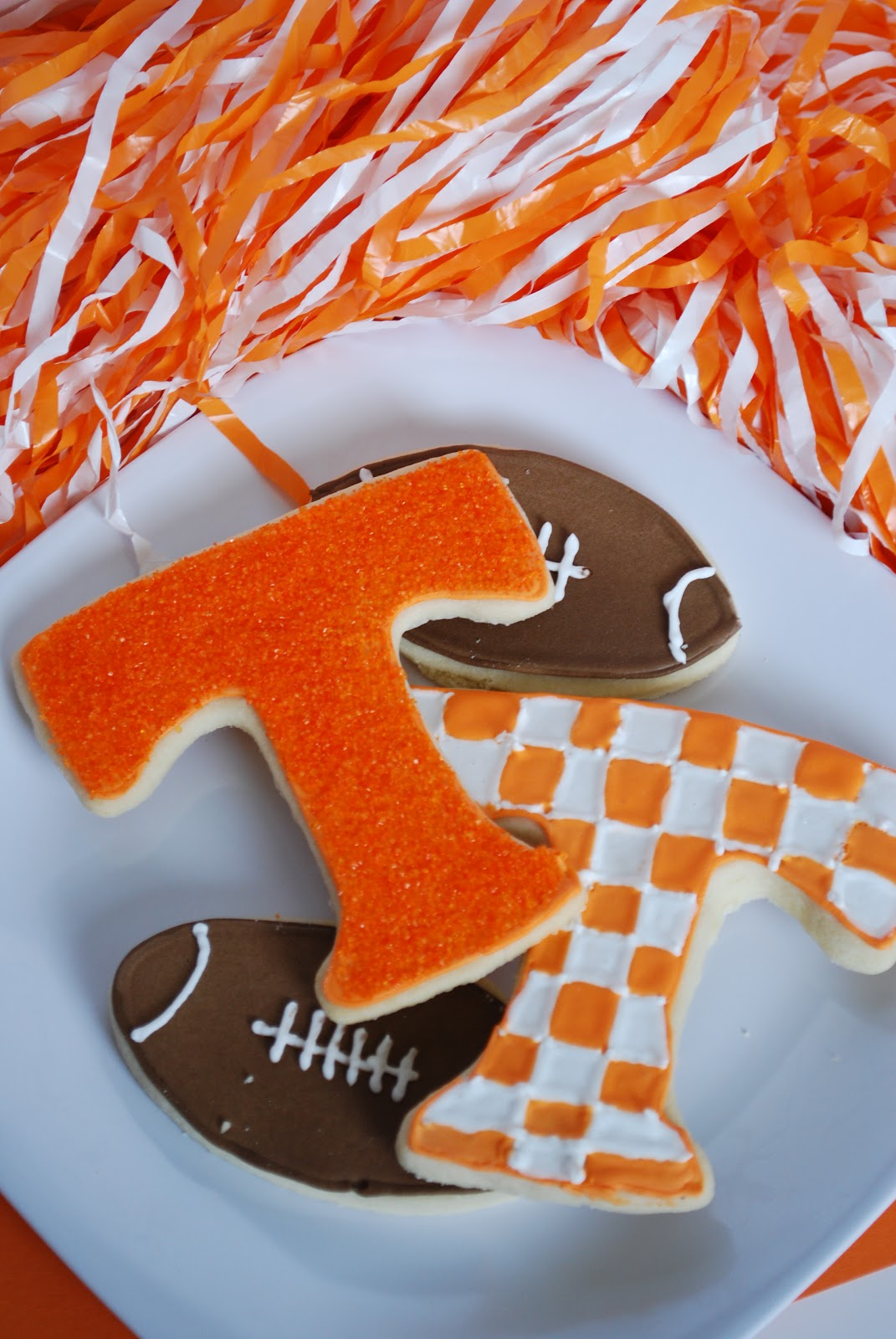 Bake.Frost.Repeat: Power T Sugar Cookies - GO VOLS!