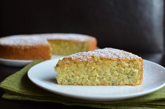 Martha Stewart Zucchini Almond Cake