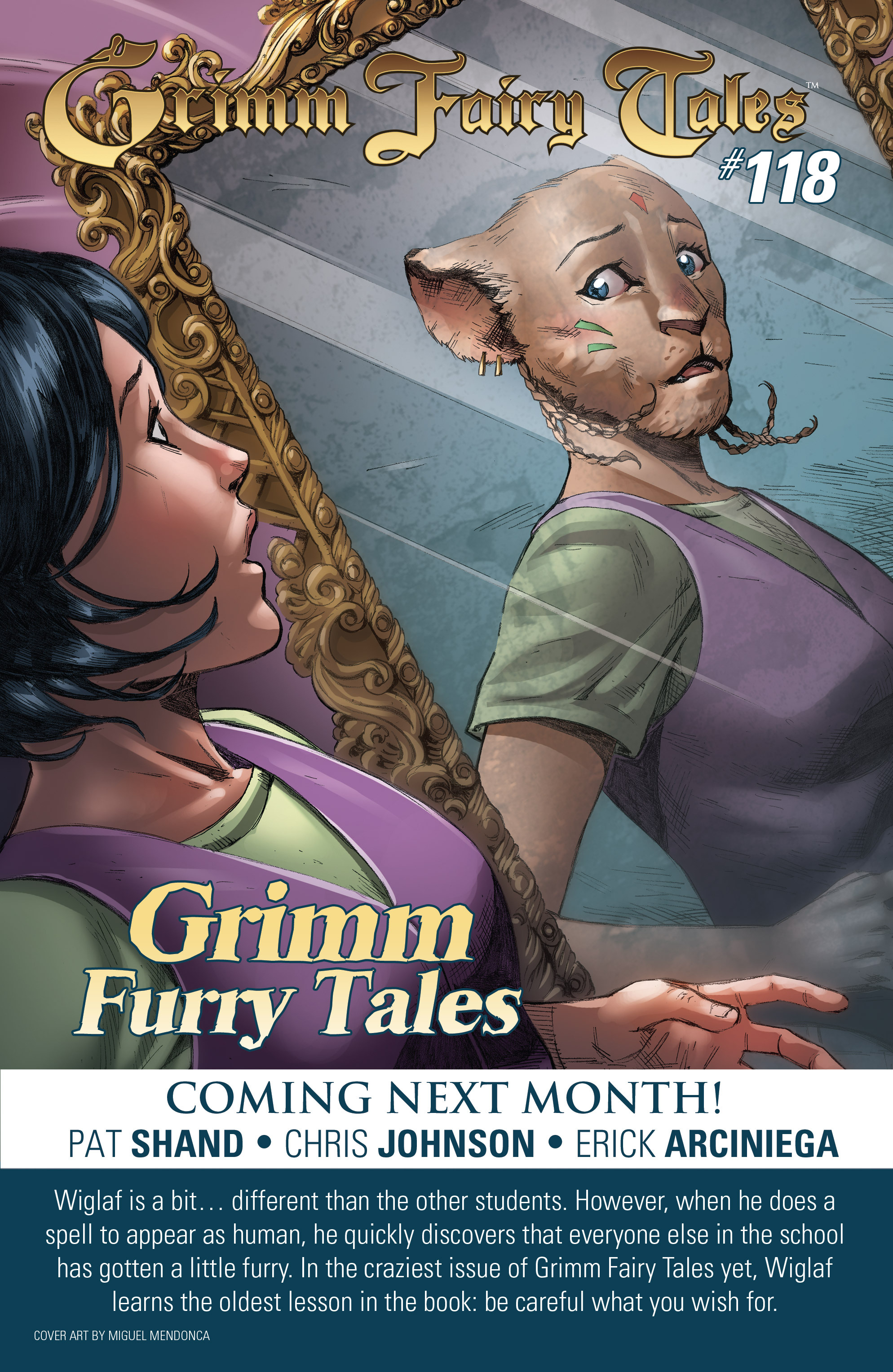 Grimm Fairy Tales (2005) Issue #117 #120 - English 25