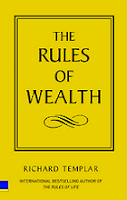 The Rules of Wealth by Richard Templar book cover