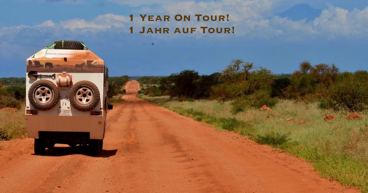 One Year On Tour! / Ein Jahr auf Tour!