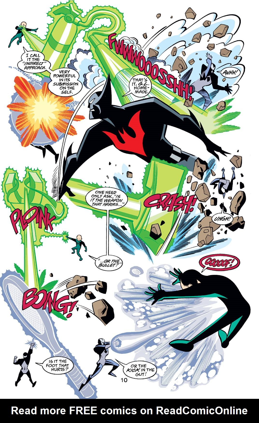 Batman Beyond [II] Issue #22 #22 - English 11