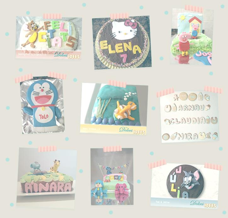 Dolces Idees - Pasteles y galletas personalizadas - Hansel y Greta
