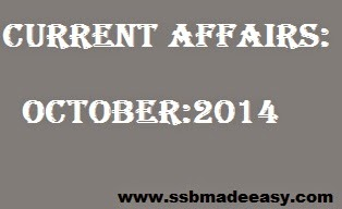 best Current Affairs for OCtober pdf