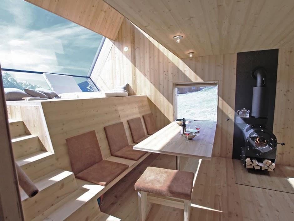 Gambar Desain Rumah Panggung Kayu Model Minimalis Sederhana 10