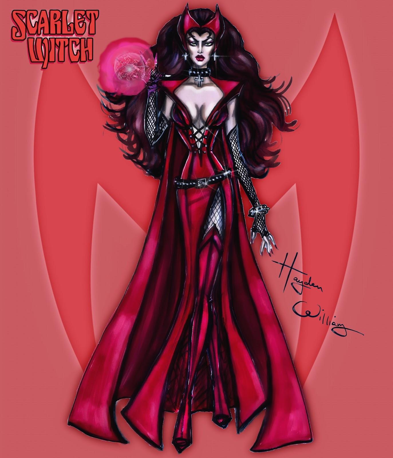 Hayden williams fashion illustrations august 2015 for Diva scarlet