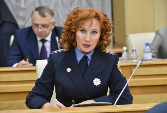 Начальник Главного управления Госадмтехнадзора Московской области Татьяна Витушева.