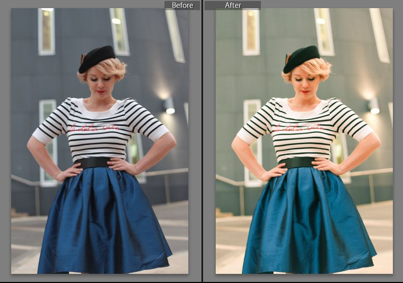 Finding Femme's free lightroom preset to make colours pop.
