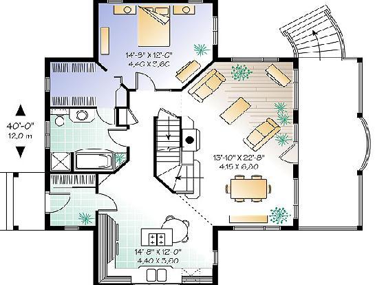 Planos casas modernas planos de casas de 2 pisos modernas - Planos de casas pareadas ...
