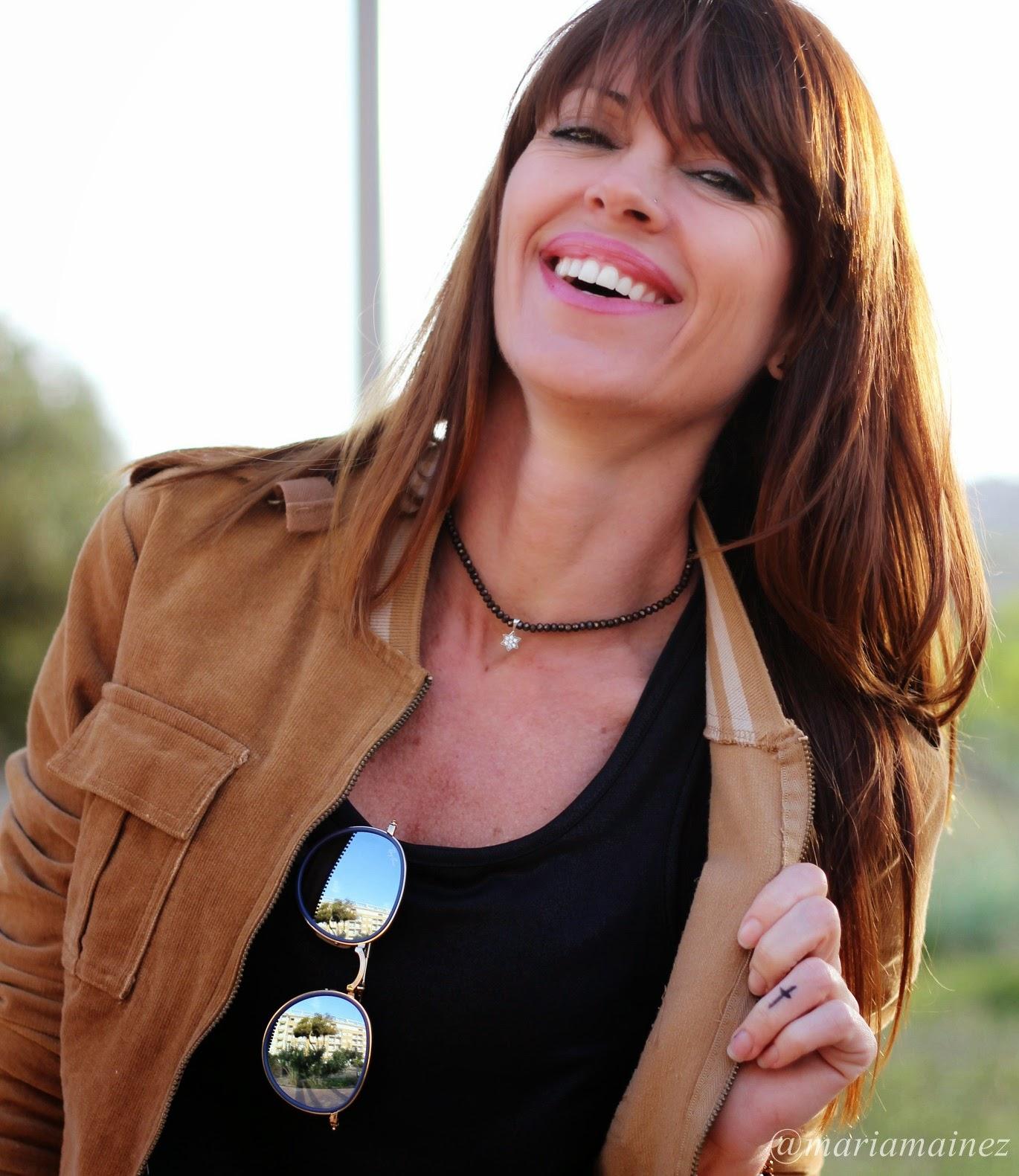 Falda larga - Colores tierra - Hippie chic - fashion blogger - Cuchicuchi joyas