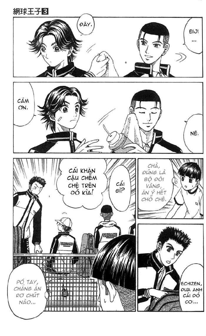 Prince of Tennis chap 21 Trang 14