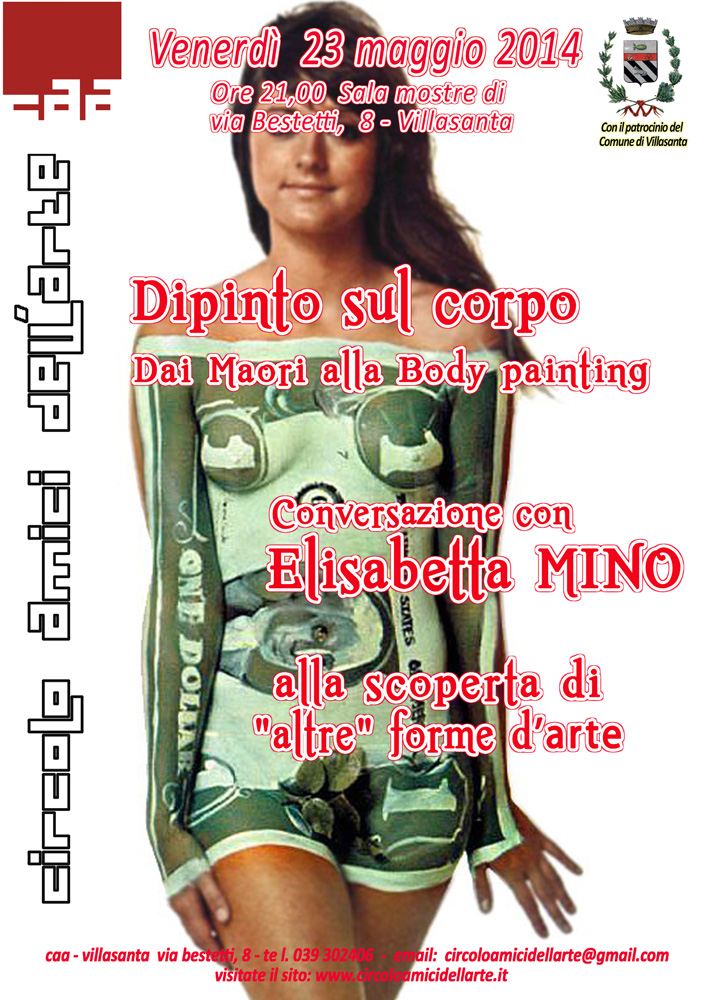 Dipinto sul corpo - Body Art - CONFERENZA