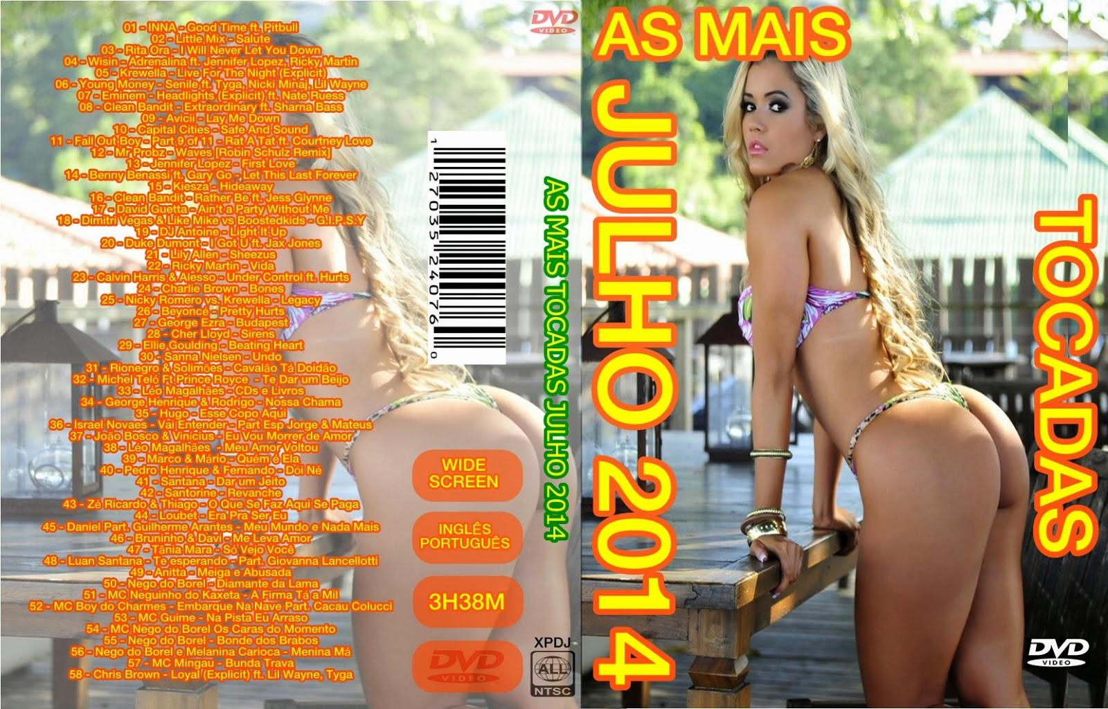 Download As Mais Tocadas Julho 2014 DVD-R