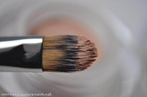 Sigma Eyeshadow Base Brush picks up color wonderfully.