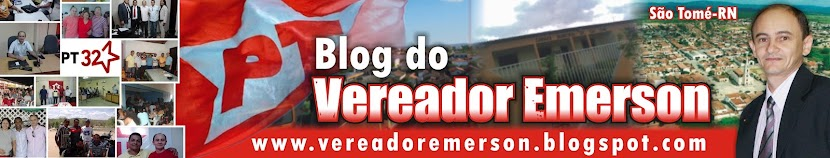 Blog do Prof. Emerson