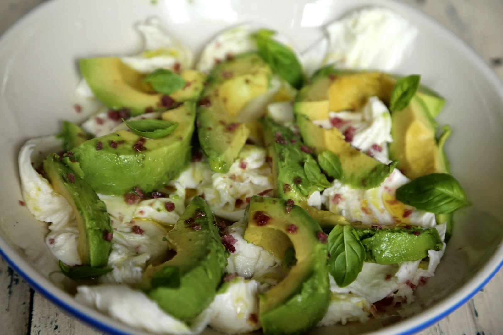 avocado mozzarella salad secret garden club