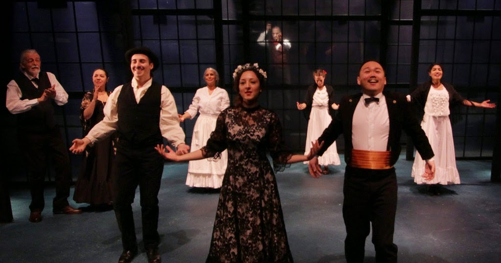 karas reviews and views blood wedding review of modern times stage company aluna
