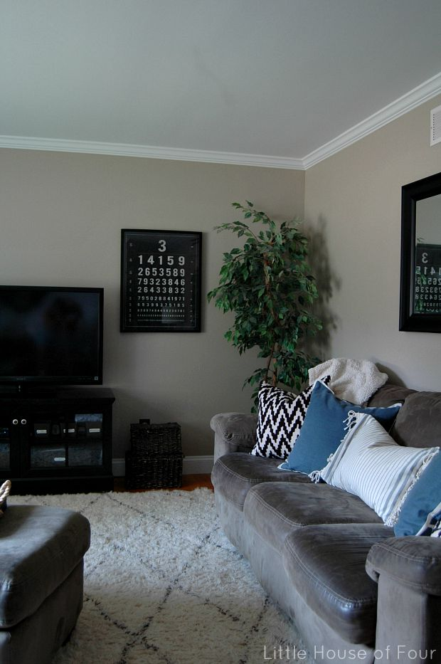 Living room update-meaningful eyechart