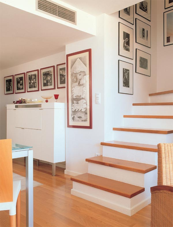 Feng shui intuitivo viento y agua hacia arriba y hacia - Escaleras de casas modernas ...