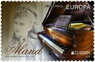 EUROPA CEPT 2014 - Dedicado a los instrumentos musicales AX-14