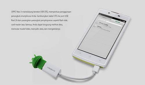 OPPO Neo 3 Dengan Koneksi OTG Harga Rp 2 Jutaan