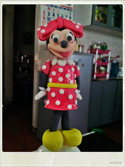 fondant Minnie Mouse