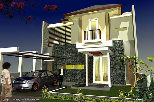 Rumah Minimalis Dan Contoh Gambar Desain Rumah Minimalis Modern