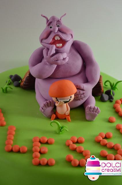 Torta Boom e reds