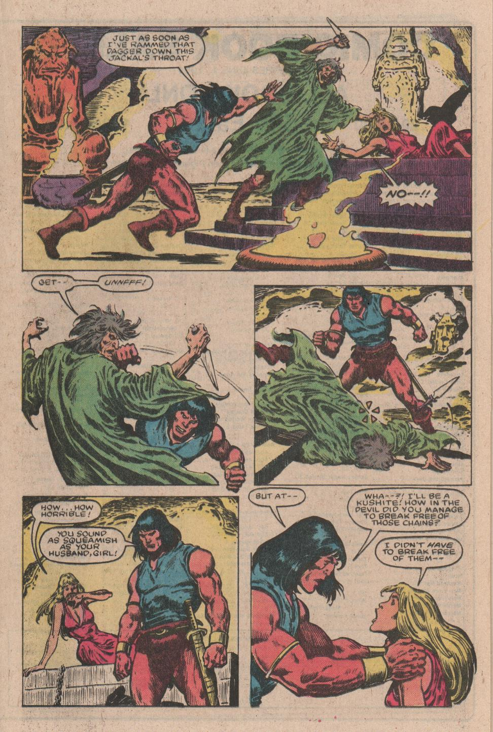 Conan the Barbarian (1970) Issue #157 #169 - English 14