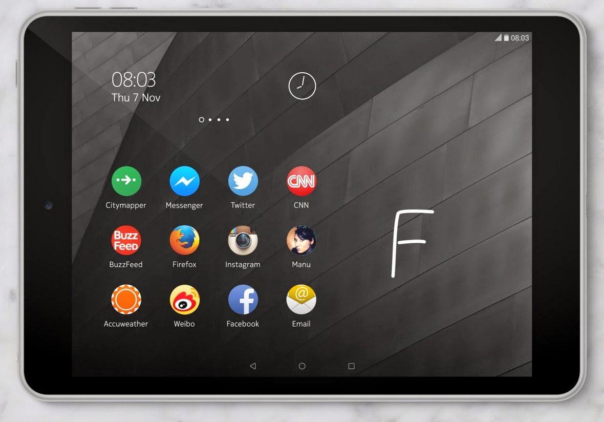 El Z launcher en el N1 de Nokia