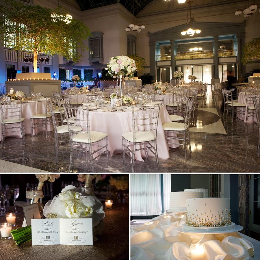 Harold Washington Library Wedding: Gerber+Scarpelli Photography: Katie & Luke's Lovely