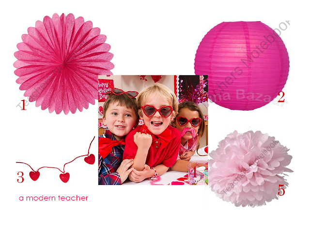 Valentine's Day Classroom Party Ideas www.amodernteacher.com