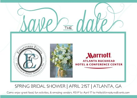 the bridal shower will be bold and bright with colors of navy blue yellow and pops of teal there will be great food entertainment