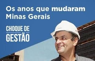 Chouqe de Gestão - Aécio Neves, os anos que mudaram Minas