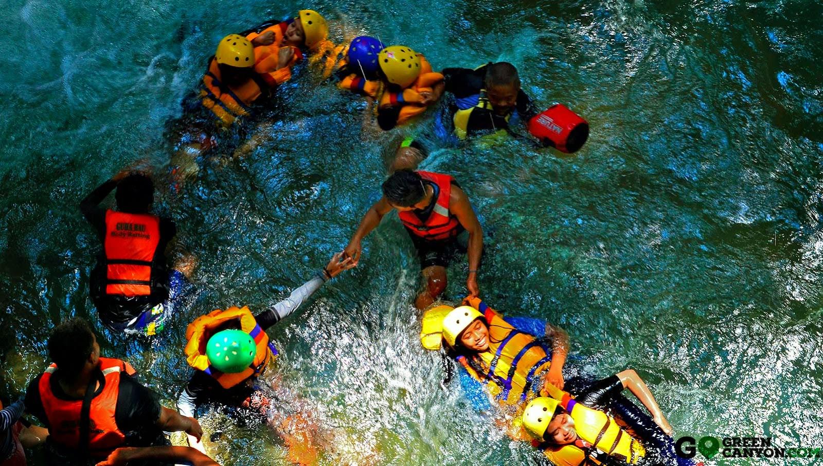 Paket Wisata Body Rafting Green Canyon Pangandaran Hemat dan Murah
