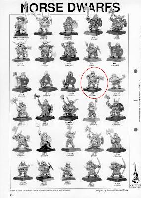 Página del Red Catalogue donde aparece el White Dwarf