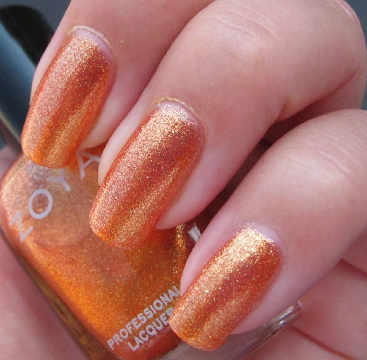 Zoya Tanzy Day 2: Orange - Zoya T...