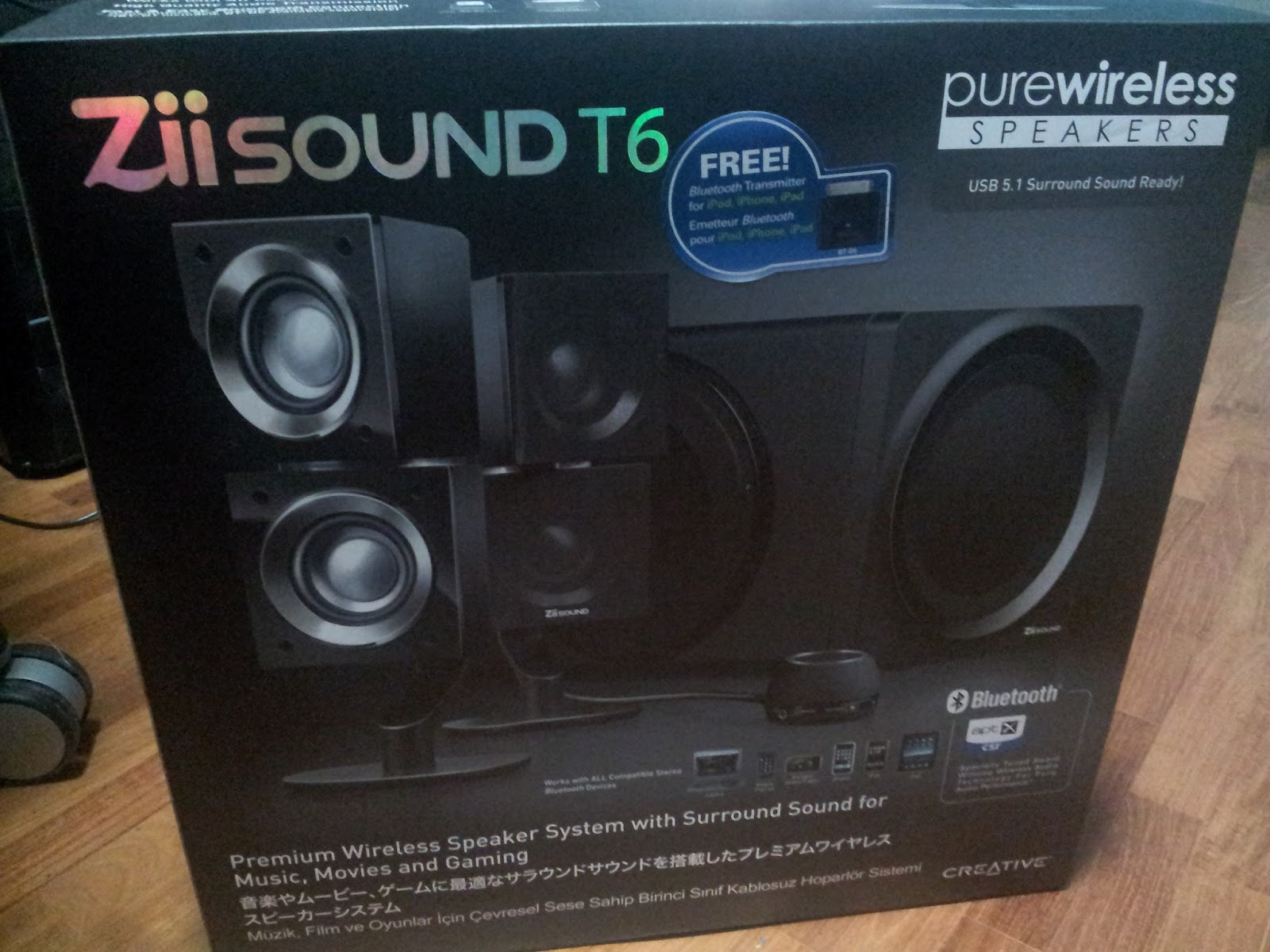 My Journey Into Music Creative Zii Sound T6 Pictures 1 Set System The Incoming Of Speakers