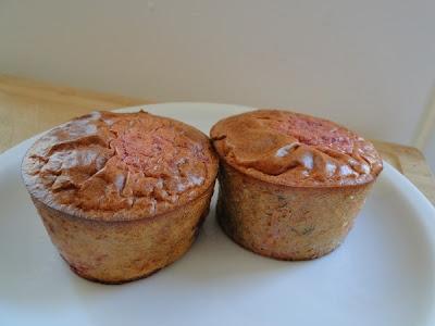 Pink Quinoa Muffins
