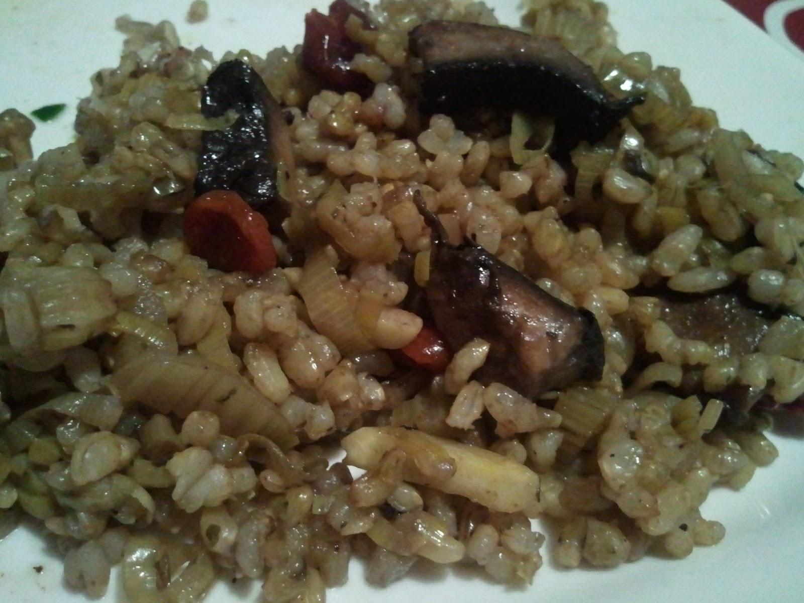 Risotto de arroz integral cocina mas saludable - Risotto arroz integral ...
