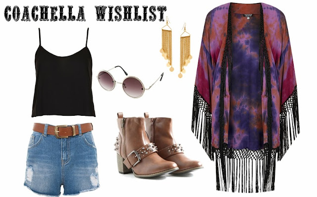 Coachella wishlist (fashion)