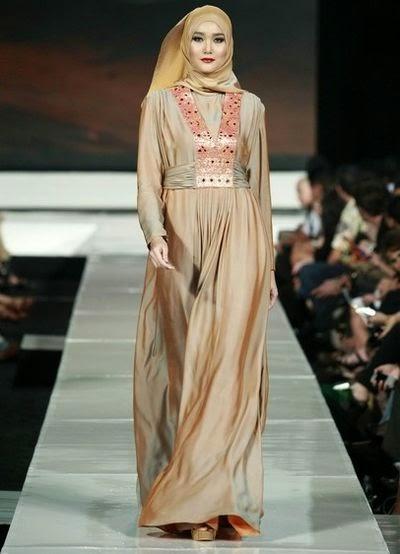 Modele hijab robe pour soirée