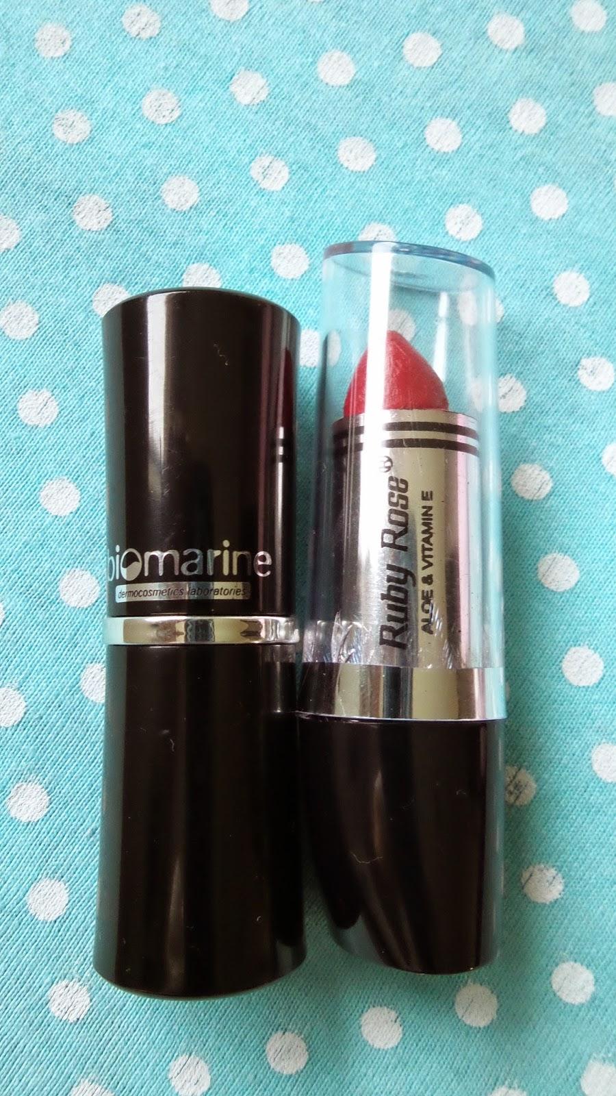 Batom Biomarine & Batom Ruby Rose