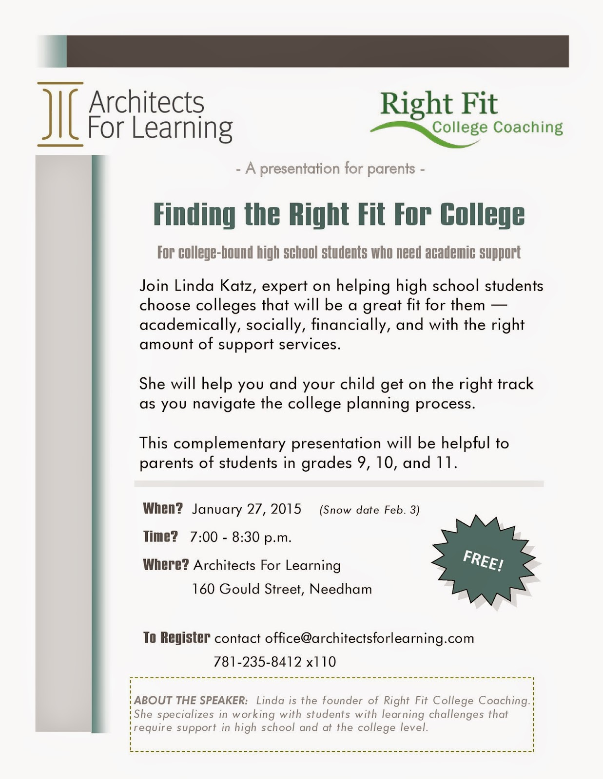 Finding Right Fit For College Free Talk >> Nesca News Notes Finding The Right Fit For College Free Talk